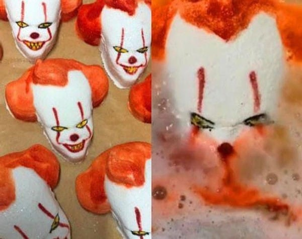 Creepy Pennywise Clown Bath Bomb