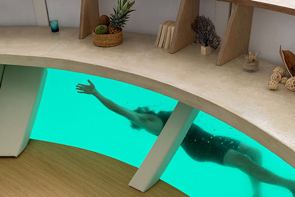 Eco-Conscious Anthenea Floating Hotel Suite
