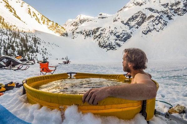 Portable Propane-Heated Hot Tub