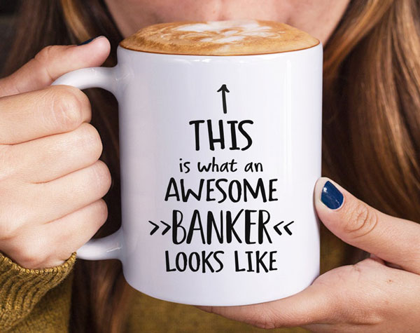 This Is What An Awesome Banker Looks Like Mug