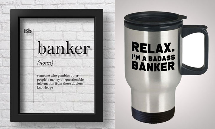 Gifts For Bankers