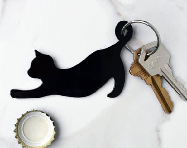 Cat Keychain Bottle Opener - Cool Bottle Openers