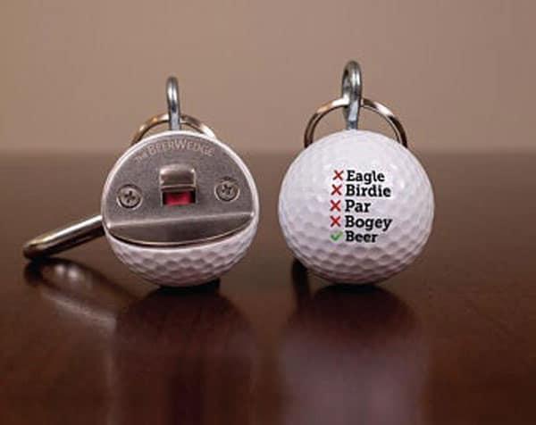 Golf Ball Bottle Opener - Great Gifts For Men Who Like Golf - Cool Bottle Openers