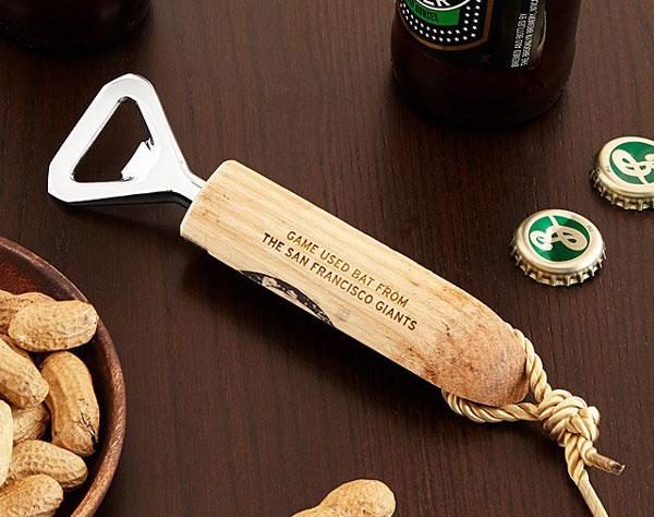 MLB Game Used Baseball Bat Bottle Openers - Cool Bottle Openers