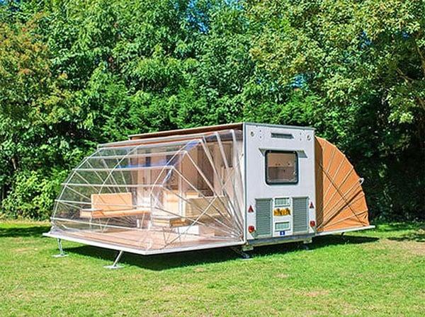 De Markies Fold Out Awnings Camping Trailer