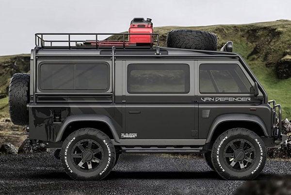 Land Rover's Defender 4×4 Adventure Van