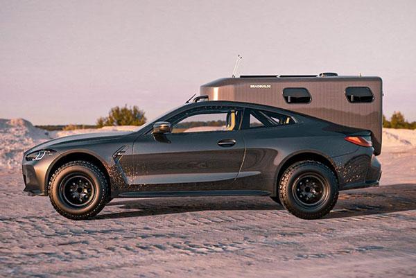 2021 BMW M4 Camper