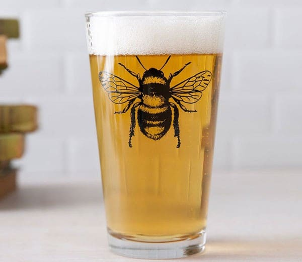 Bee Glass Gift for Him