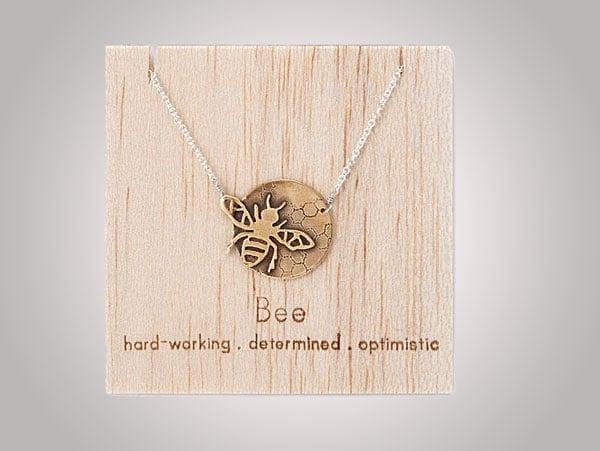 Bee Spirit Animal Necklaces