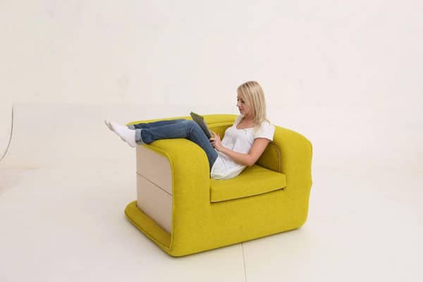 FLOP Multi-functional Arm Chair Bed