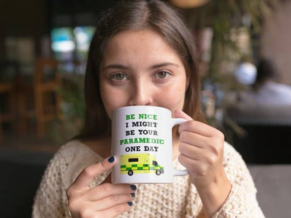 Be Nice I Might Be Your Paramedic One Day Coffee Mug - Gifts For Paramedics