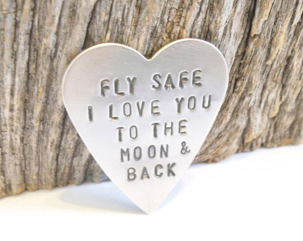 Fly Safe Wallet Insert Gift