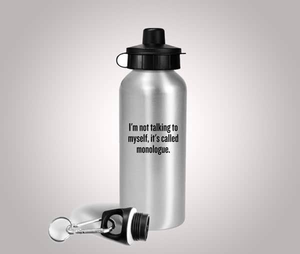 Funny Acting Water Bottle
