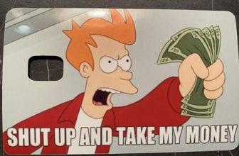 Funny Credit Card Skins