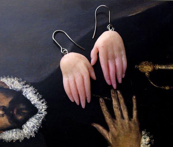 Hands & Feet Earrings