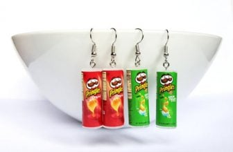 Pringles Potato Chips Earrings