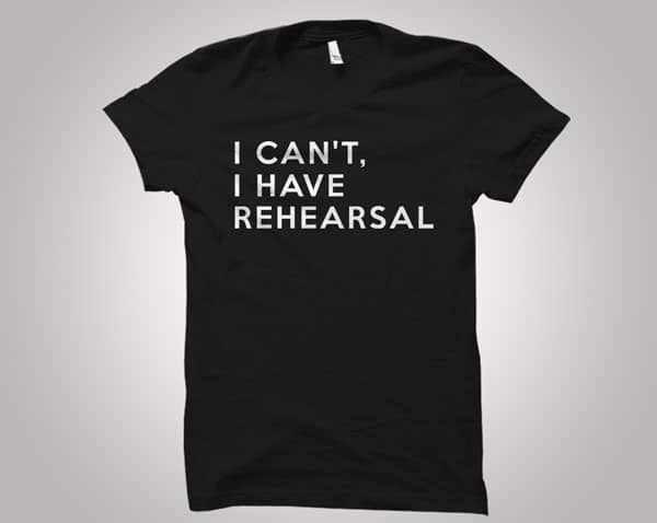 Theatre Gift Shirt - gifts for actors
