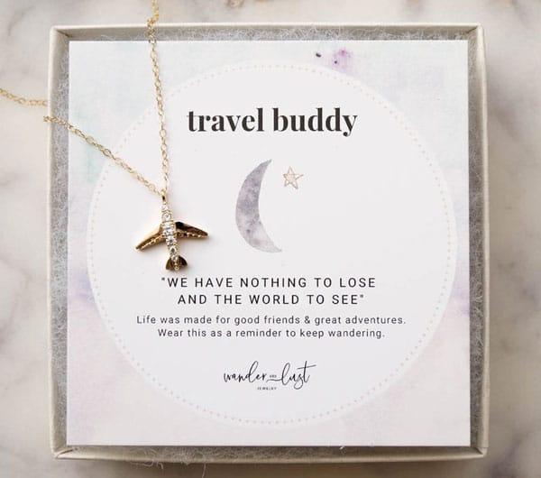 Travel Buddy Flight Attendant Gift