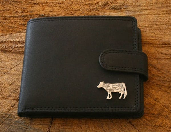 Butcher Cow Leather Wallet