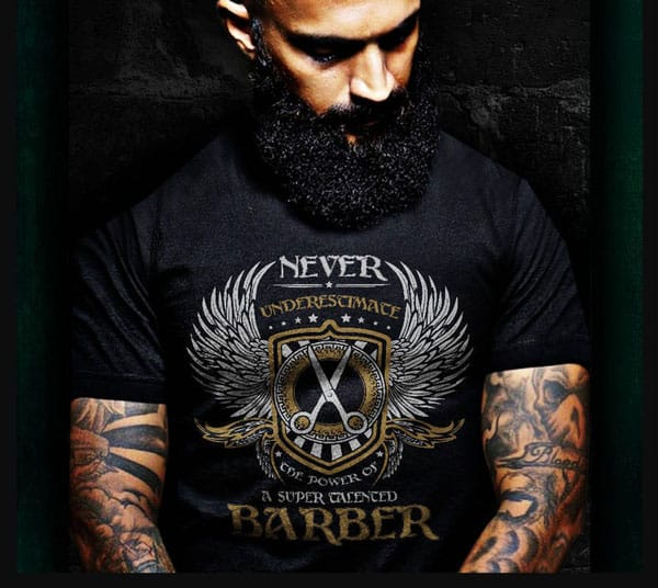 Awesome Barber T-Shirt - Gifts For Barbers