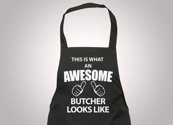 Awesome Butcher Apron