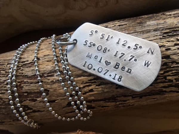 Custom Dog Tag Military Necklace - Gifts For Army Soldiers