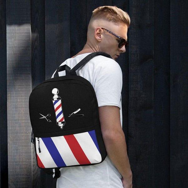 Cut and Fade Barbers Backpack