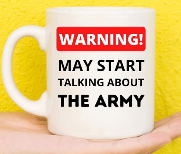 Funny Army Coffee Mug