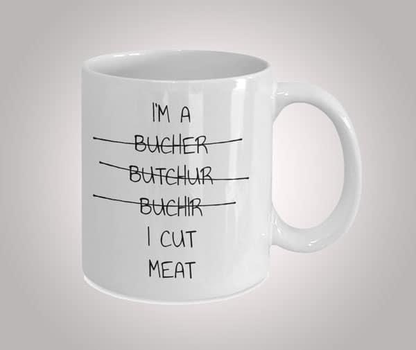 Funny Gift for Butcher Coffee Mug