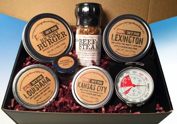 Gusto's Gift Set - The Barbecue Box