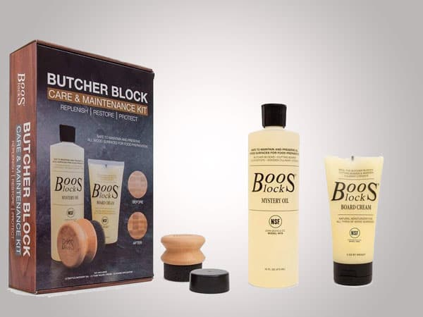 John Boos Butcher Block 3-Piece Care & Maintenance Kit