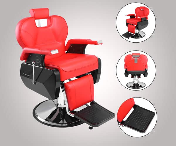 Ktaxon Portable Deluxe Barber Chair