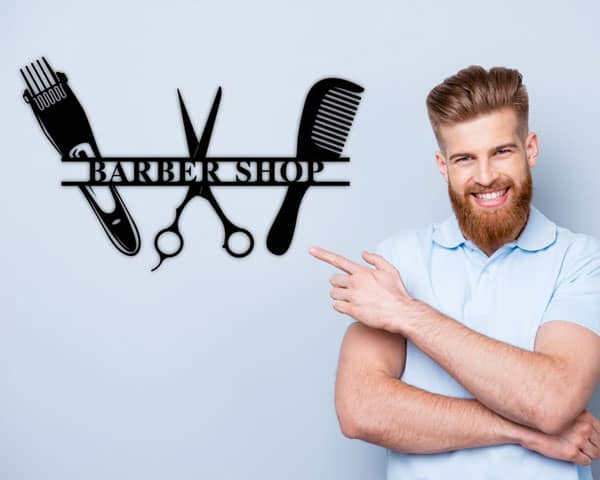 Personalized Barber Sign - Gifts For Barbers