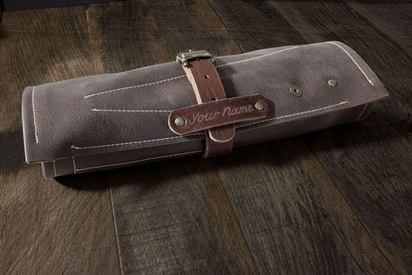 Personalized Leather Barbers Tool Roll - Gifts For Barbers