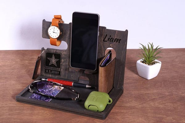 Personalized Military Docking Station