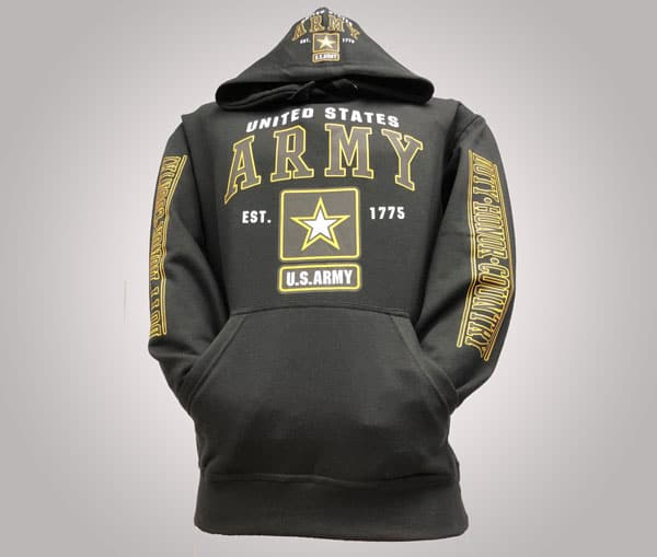 USA Army Hoodie - Gifts For Army Soldiers