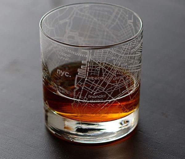 Urban Map Glass