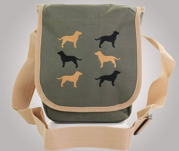 Dog walking bag