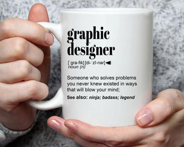 Graphic Designer Definition Coffee Mug