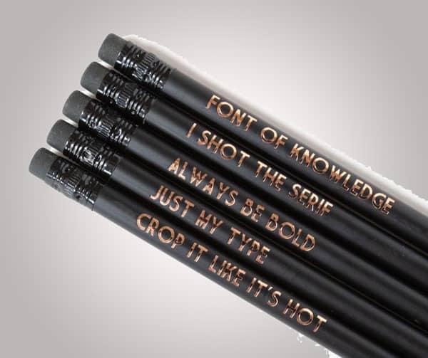 Graphic Designer Pencil Set
