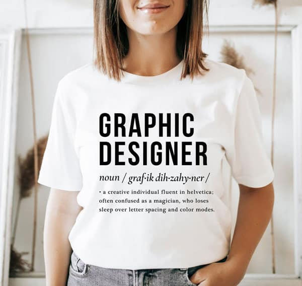 Graphic Designer Sarcastic Shirt