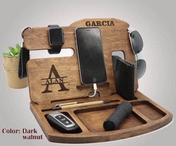 Personalized dock station / Desk organizer