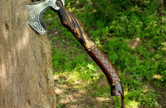 Custom Forged Carbon Steel Viking Axe