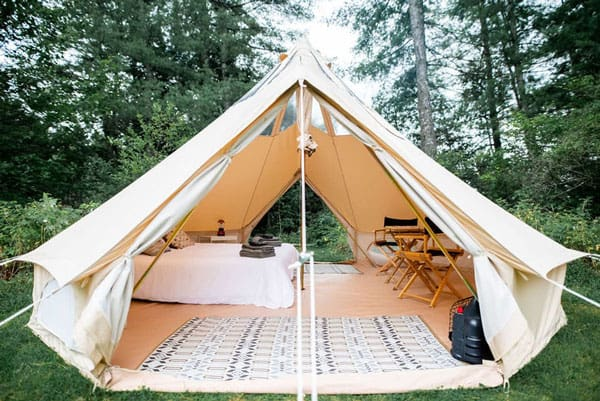 Stargazer Double Wall Glamping Bell Tents