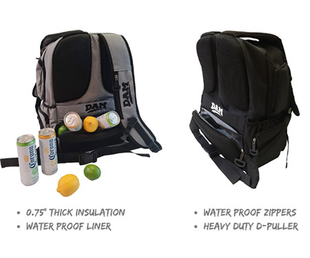 DAM Coolers 2-in-1 Backpack Coolers