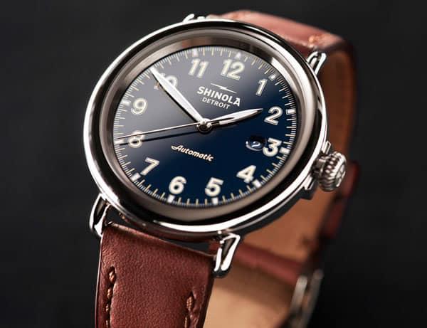 The Shinola Runwell Automatic Watch