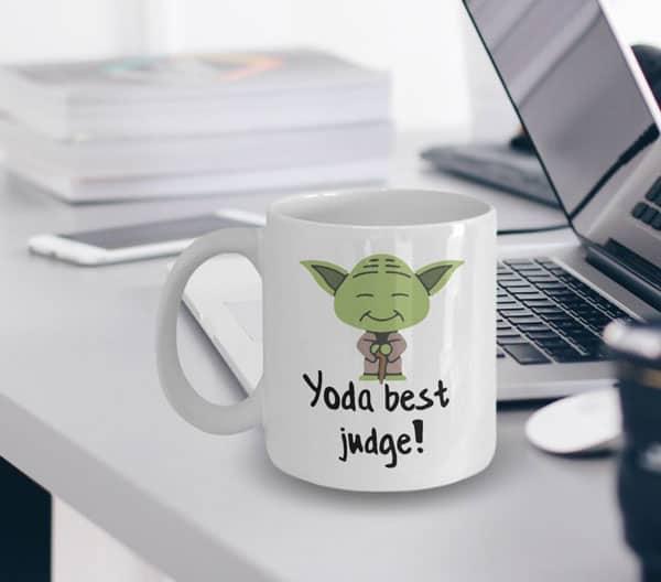 Yoda Best Judge Mug
