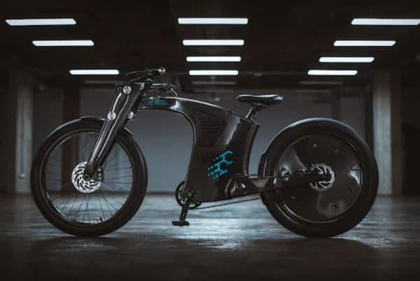 CrownCruiser: Carbon Fiber e-Bike