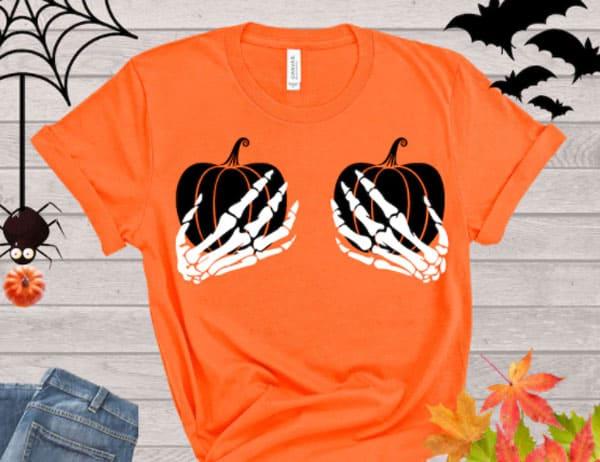 Halloween Skeleton Hands Sweatshirts