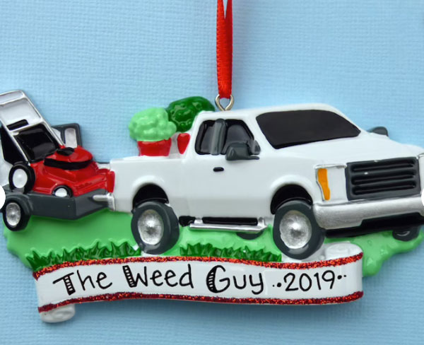 Landscapers Personalized Ornament